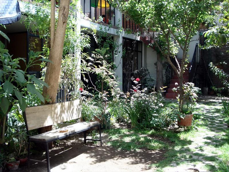 Garden of CEICA - my language school in Arequipa