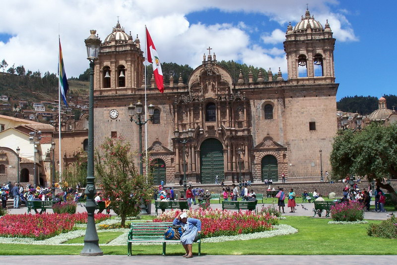 Cusco - Cathedral at Plaza de Armas