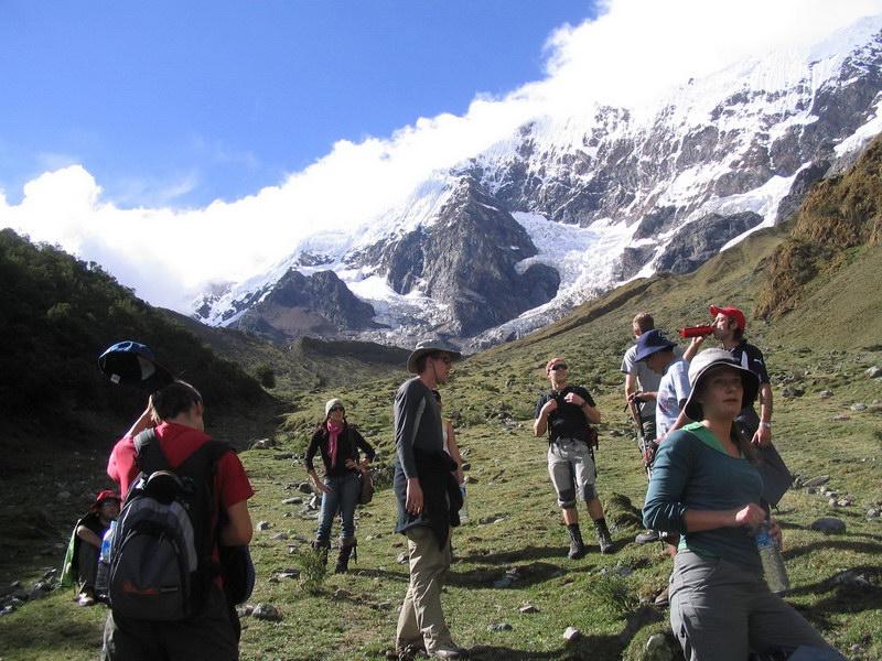 Start of our Salkantay Trek