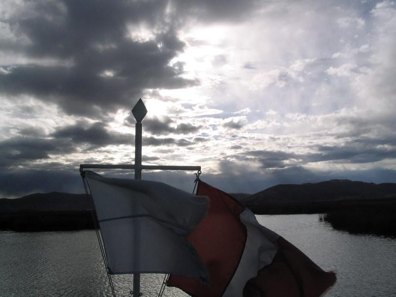 Boats tour on Lake Titicaca