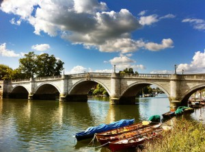 Twickenham Bridge from Richmond side