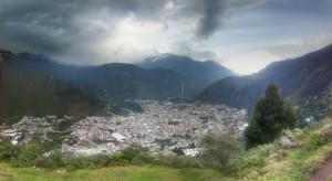 Ecuador - Baños: view point