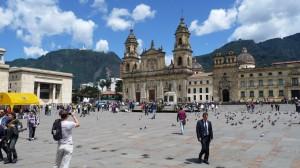 Colombia - Bogotá: Plaza de Bolivar
