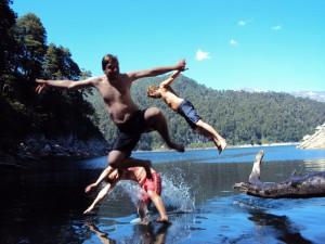 Parque Nacional de Conguillio - kayaking