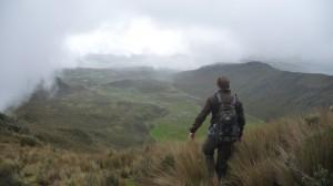 Ecuador - Cotopaxi: hike to Rumiñahui