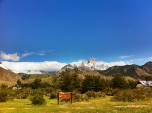 El Chaltén - Fitz Roy without clouds (!!!)