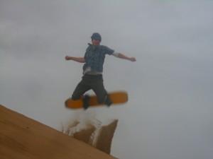 Peru - Huacachina: sandboarding