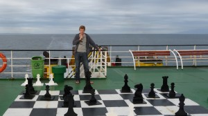 Navimag-Trip from Puerto Montt to Puerto Natales - chess time