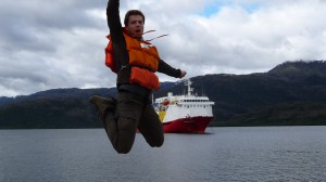 Navimag-Trip from Puerto Montt to Puerto Natales - over board... :)