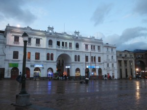 Colombia - Pasto: Main plaza