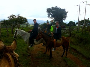 Colombia - San Augustin: horseback riding