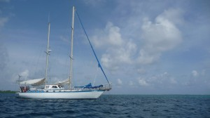 Colombia/Panama - Caribbean: our sailing boat Luka