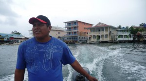Panama - Bocas del Toro: water-taxi from Bocas Town to Isla Bastimentos