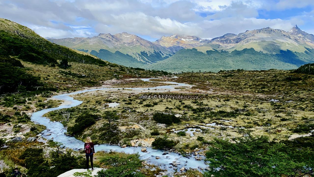 Wanderung bei Ushuaia, Feuerland, Argentinien (21.02.2020)