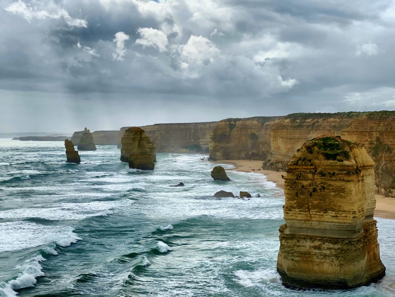 Zwölf Apostel, Great Ocean Road, Port Campbell National Park, Princetown, Victoria, Australien (25.10.2019)