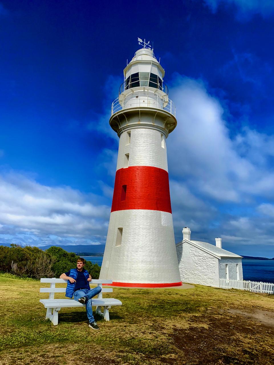 Low Head Lighthouse, Low Head Conservation Area, Low Head, Tasmanien, Australien (29.10.2019)