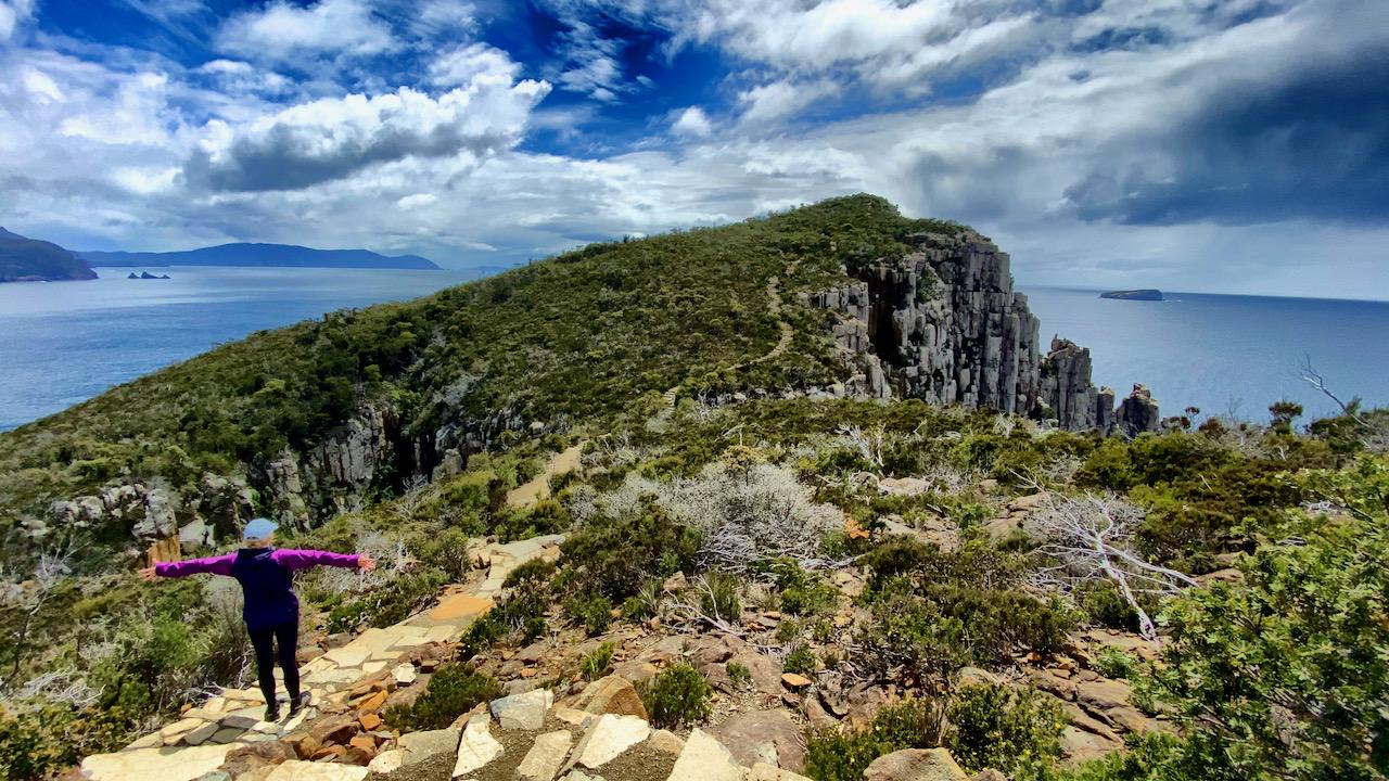 Tasman-Nationalpark, Fortescue, Tasmanien, Australien (04.11.2019)