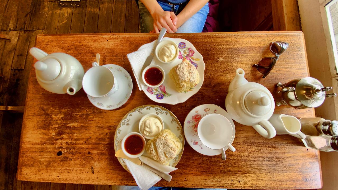 Scones & clotted Cream in Richmond, Tasmanien, Australien (05.10.2019)