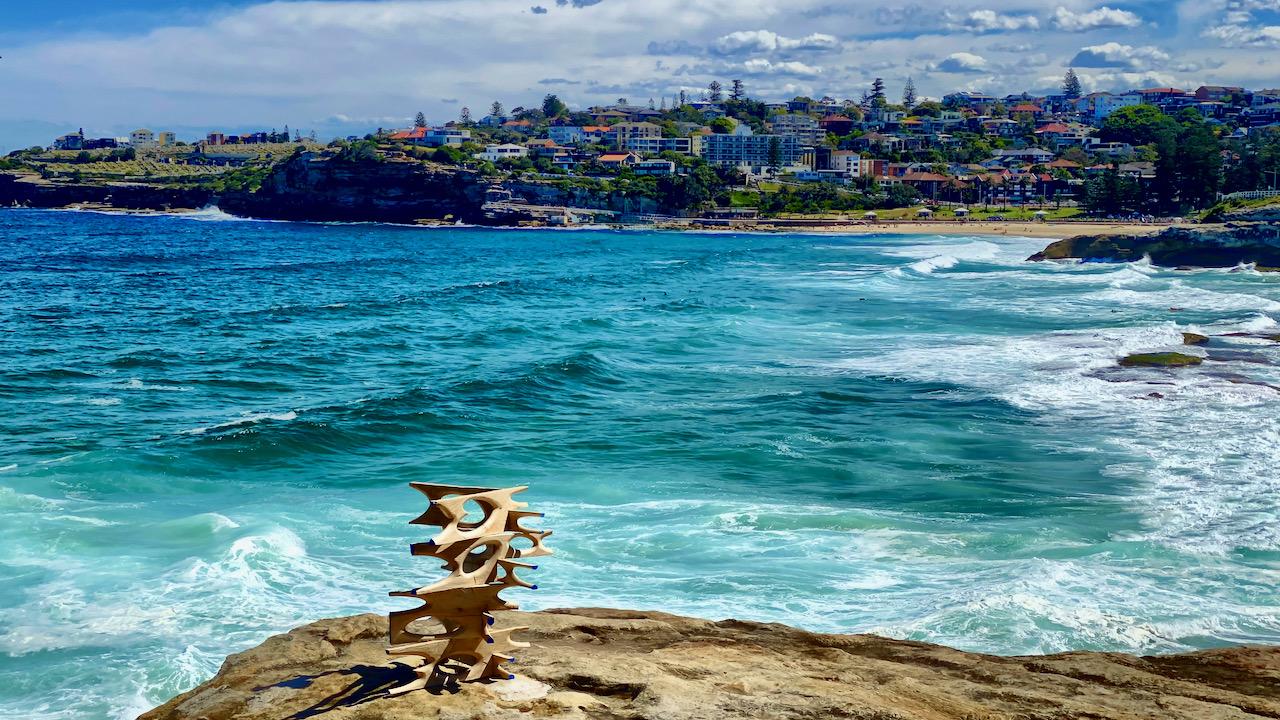 Sculpture by the Sea beim Bondi Beach, NSW, Australien (09.11.2019)