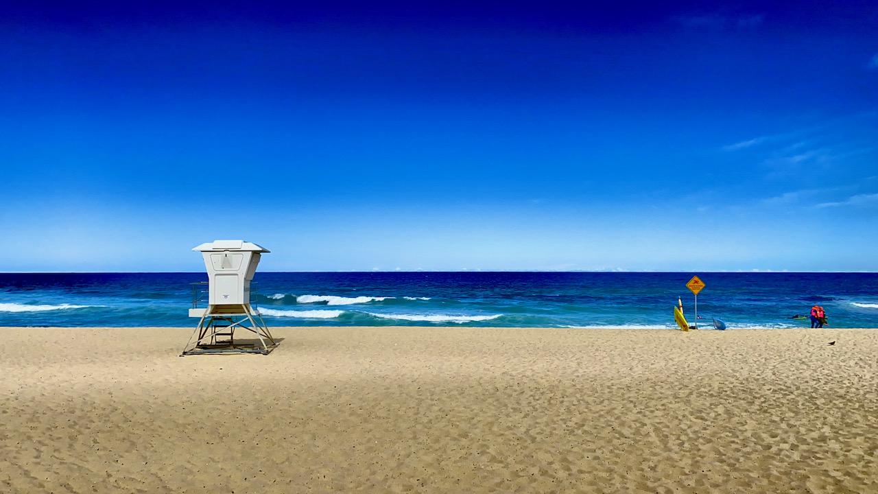 Bronte Beach, NSW, Australien (09.11.2019)