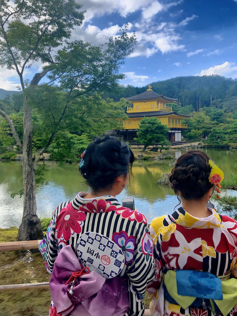 Kinkaku-ji (Goldener Tempel), Kita-Ku, Kyoto-Shi, Kyōto, Japan (14.09.2019)