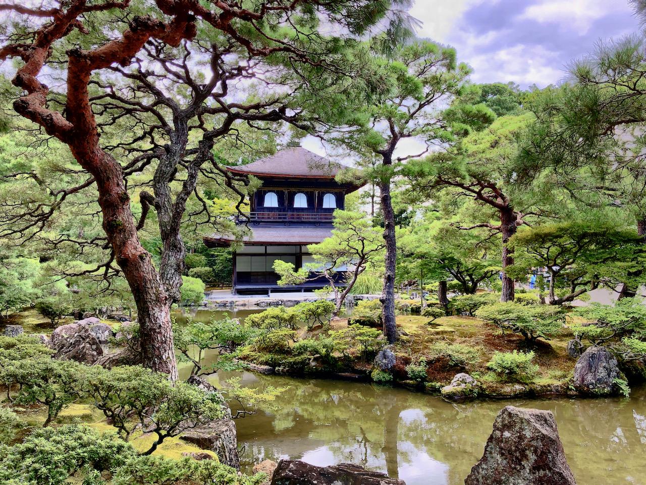 Ginkaku-ji (Silberner Tempel) in Kyōto, Japan (15.09.2019)