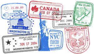 Passports Stamps